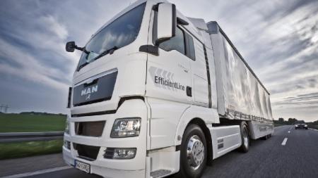 Lietuvos ekonomiškiausias sunkvežimis 2012 – MAN TGX EfficientLine
