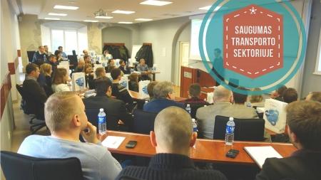 """SEMINARO """"Saugumas transporto sektoriuje"""" apžvalga"""