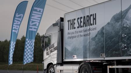 """""""Drivers' Fuel Challenge""""varžybose susigrūmė efektyviausiai degalus naudojantys sunkvežimių vairuotojai iš viso pasaulio"""