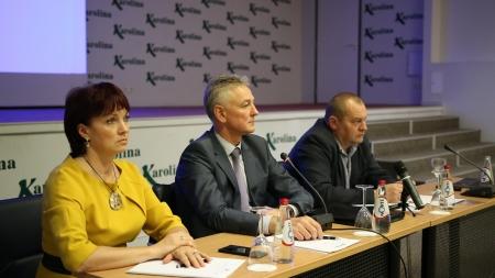 Prezidiumo narių susitikimas su Vilniaus regiono vežėjais