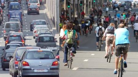 Europos judumo savaitę vainikuoja Diena be automobilio
